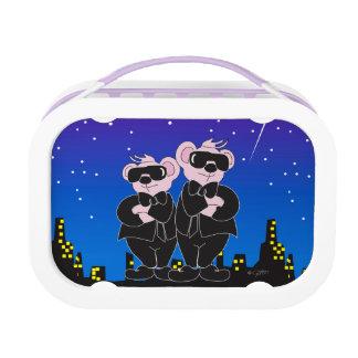 BEARS IN BLACK ALIEN PURPLE yubo Lunch Box
