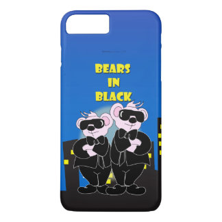 BEARS IN BLACK Apple iPhone 7 Plus  Barely There iPhone 7 Plus Case
