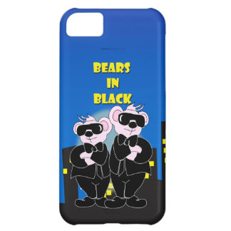 BEARS IN BLACK iPhone 5C  Barely There iPhone 5C Cases