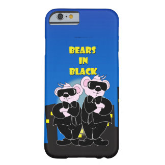 BEARS IN BLACK iPhone 6/6s Barely There Barely There iPhone 6 Case