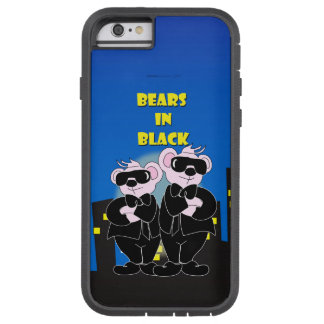 BEARS IN BLACK iPhone 6/6s Tough Xtreme Tough Xtreme iPhone 6 Case