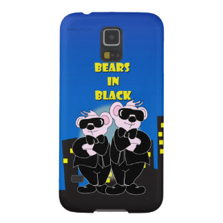 BEARS IN BLACK Samsung Galaxy S5 Barely There Galaxy S5 Cover