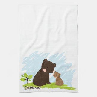 Bears Organic Planet Custom Kitchen & Bath Towels