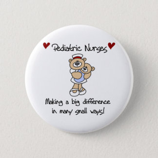Bears Pediatricians Make a Difference 2 Inch Round Button