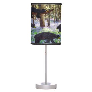 Bears table lamp from my art
