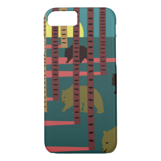 Bears walking in the woods iPhone 8/7 case