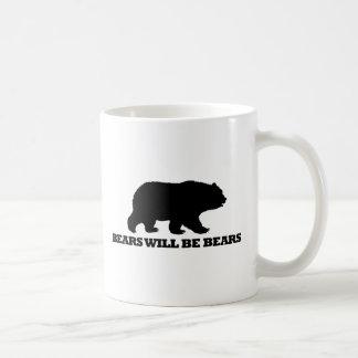 Bears Will Be Bears Coffee Mug