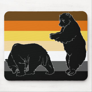 Bears Will Be Bears Mousepad