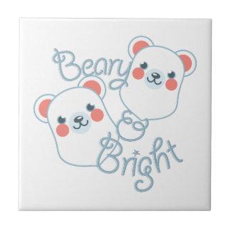 Beary & Bright Ceramic Tile