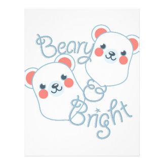 Beary & Bright Letterhead