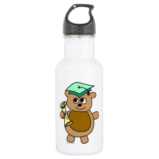 Beary Cute Graduation 532 Ml Water Bottle