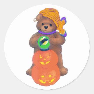 Beary Cute Gypsy Round Sticker