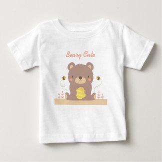 Beary Cute Woodland Little Bear For Babies Baby T-Shirt