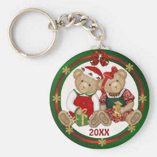 Beary Merry Christmas 20XX Keychain