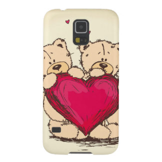 Beary Much In Love Galaxy S5 Cover
