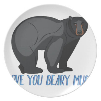 Beary Much Plate