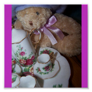 beary special tea party Poster