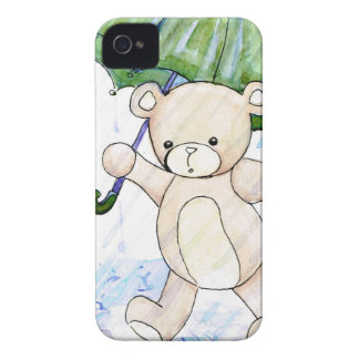 Beary wet teddy iPhone 4 Case-Mate case
