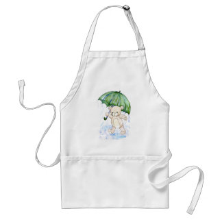 Beary wet teddy standard apron