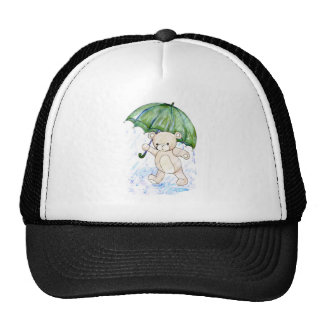 Beary wet teddy trucker hat