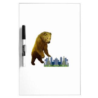 Bearzilla Dry Erase Board