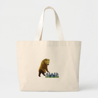 Bearzilla Large Tote Bag