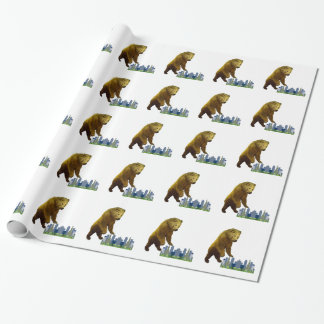Bearzilla Wrapping Paper