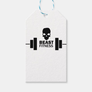 Beast Fitness Gift Tags
