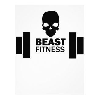 Beast Fitness Letterhead