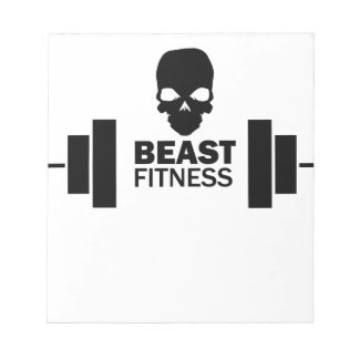 Beast Fitness Notepad