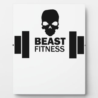Beast Fitness Plaque