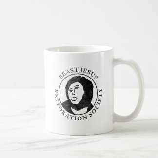 Beast Jesus Restoration Society Coffee Mug