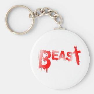 Beast Keychain