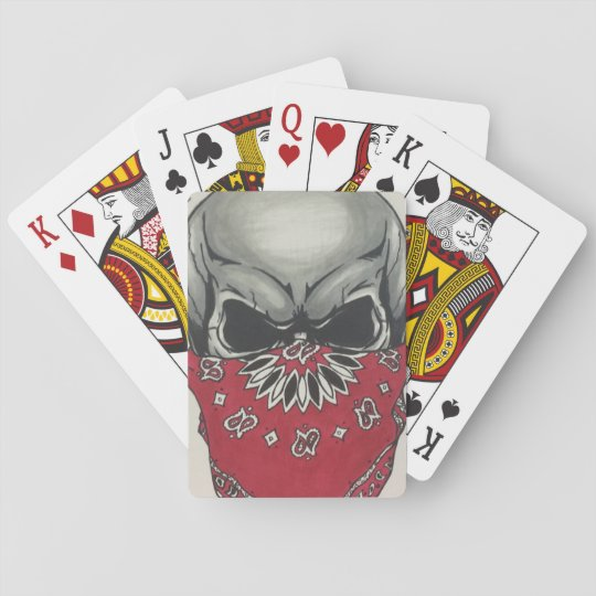 beast mode poker face playing cards