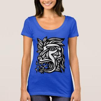 """Beast Roar"" Scoop Neck T-Shirt"