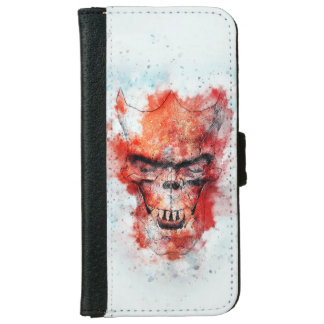 Beast Skull iPhone 6 Wallet Case