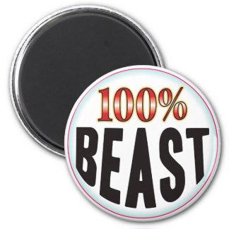 Beast Tag Fridge Magnet