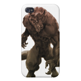 Beastly werewolf iPhone 4/4S cases