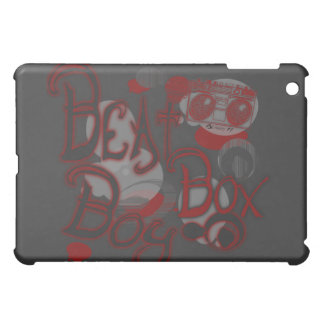 Beat Box Boy Red iPad Case