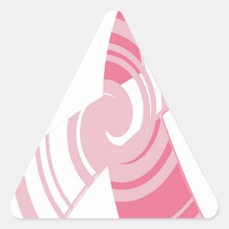Beat Cancer Triangle Sticker