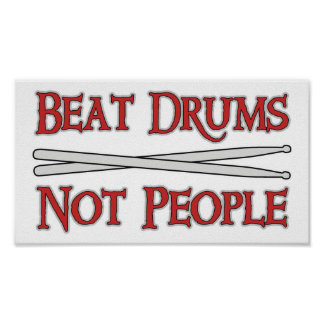 Beat Drums Posters