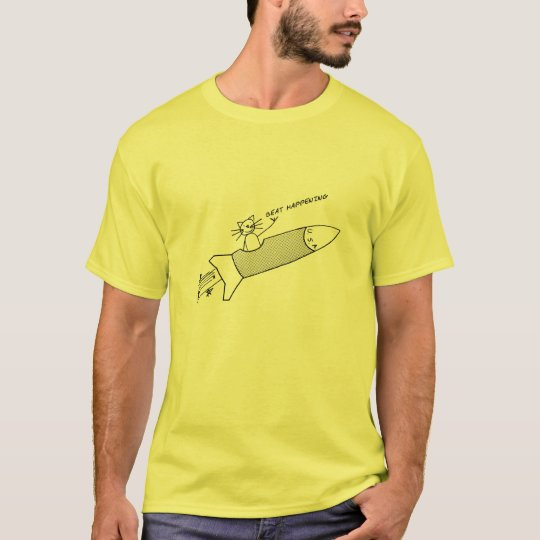 beat happening ! T-Shirt