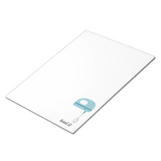 Beat It | Blue Kitchen Beater Notepad
