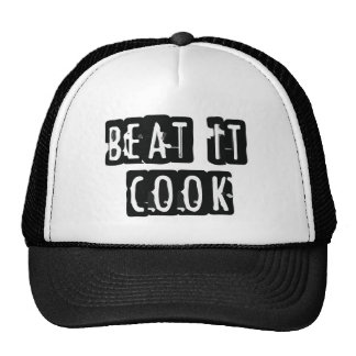 beat it kook trucker hat