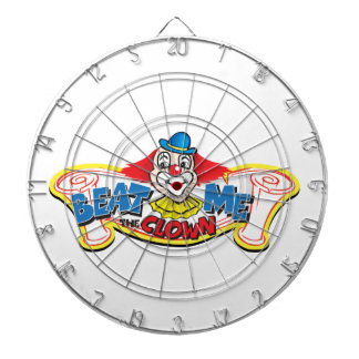 Beat Me the Clown Dartboard