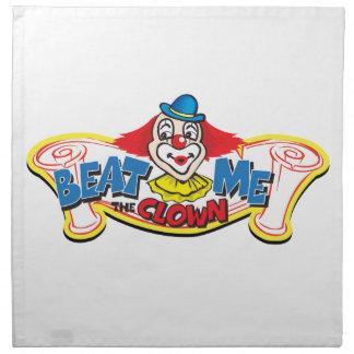 Beat Me the Clown Napkin
