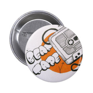 Beat tape badge 2 inch round button