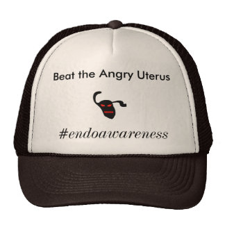 Beat The Angry Uterus Trucker Hat