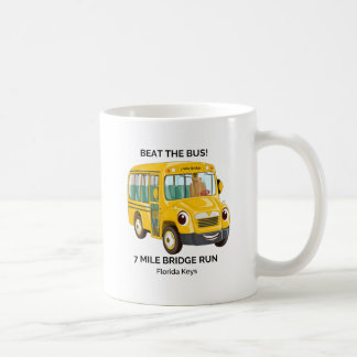 Beat the Bus, 7 Mile Bridge Run Coffee Mug
