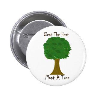 Beat the Heat 2 Inch Round Button